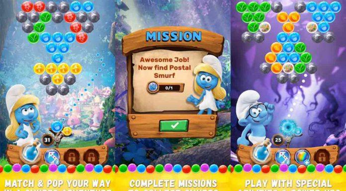 Smurf Bubble